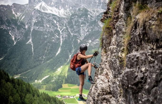St Jodok Klettersteig : St magdalena klettersteig und alpine safety area